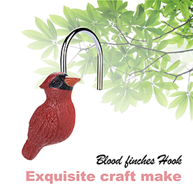 Shower Curtain Hooks FITNATE12 PCS Anti Rust Decorative For Home Bathroom Bedroom Baby Room Living More Red