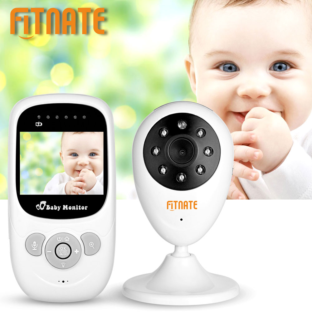 Fitnate 2.4inches LCD Wireless Digital Video Baby Monitor Camera Night Vision Audio